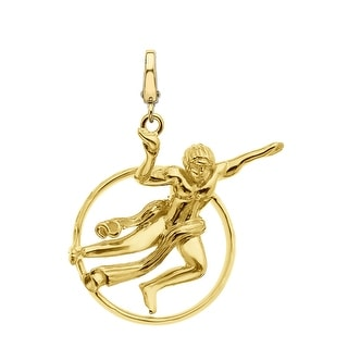 Manhattan Collection: Prometheus Charm in 14K Gold - Yellow