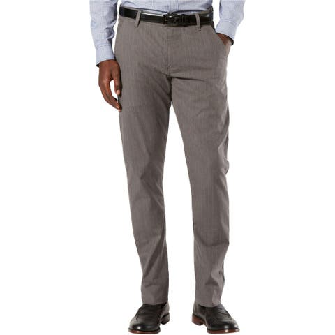 Dockers Mens Alpha Stretch Twill Casual Trouser Pants