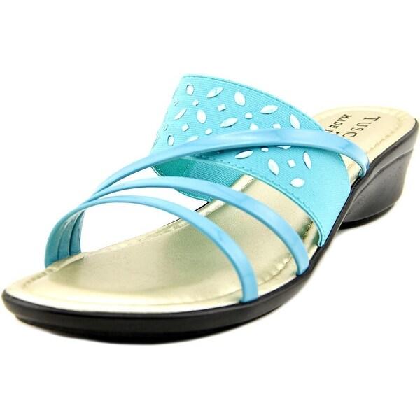 Easy Street Atessa Women WW Open Toe Synthetic  Slides Sandal