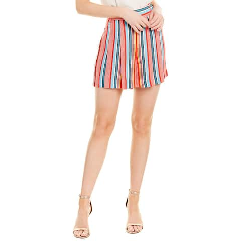 Alice + Olivia Scarlet High-Waist Flutter Short