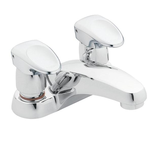 Shop Moen 8886 Single Handle Centerset Metering Bathroom Faucet From