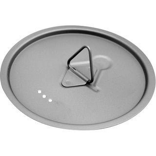 TOAKS Updated Titanium Lightweight Lid For Outdoor Camping Cook Pots And Cups