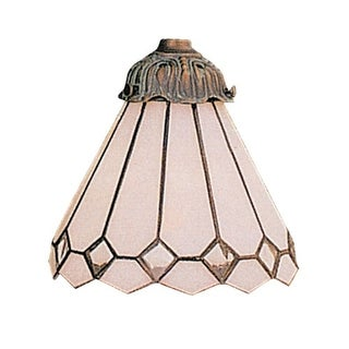 Landmark Lighting 999-04 Tiffany Single Replacement Shade from the Mix-N-Match C