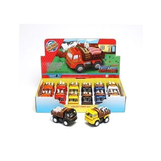 "Tough-1 Western Toy Die Cast 12 Pack Truck 3"" Multi Color 87-98902"