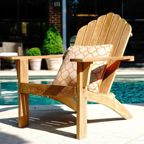 Panama Teak Outdoor Adirondack Chair