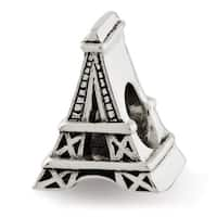 Sterling Silver Reflections Eiffel Tower Bead (4mm Diameter Hole)