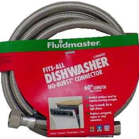 Fluidmaster 1W60CU Dishwasher Connectors, 60""