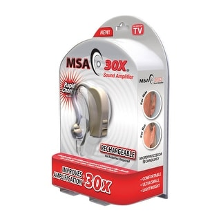 Msa 30X Sound Amplifier - Clamshell Hearing Aid
