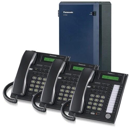 Panasonic KX-TDA50G-7731B Hybrid IP PBX System