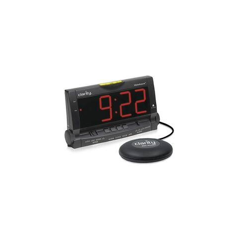 Ameriphone Wake Assure Amplified Alarm Clock With Bed Shaker 00600.000 New