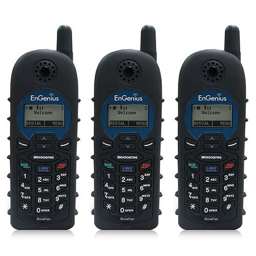 """Engenius DuraWalkie 1X (3 Pack) Long Range Walkie-Talkie for DuraFon1X"""