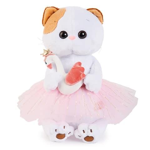 Ballerina Kitty Li-Li With a Swan Stuffed Plush Toy