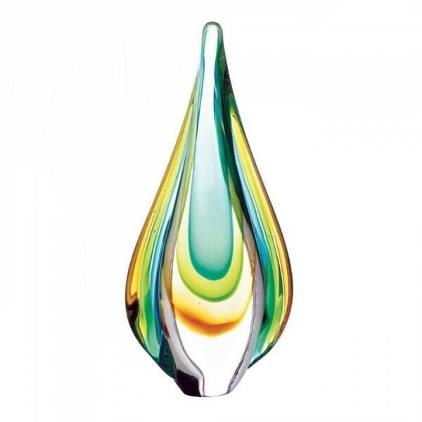 Art Glass Water Drop Statue