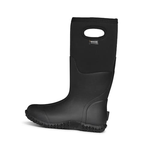 Bogs Outdoor Boots Womens Mesa Solid Waterproof Insulate Pull On - Black
