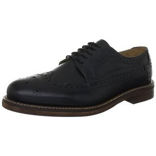 H by Hudson Mens Patton Leather Wingtip Derby Shoes
