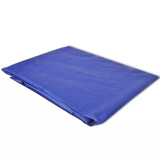 "vidaXL Pool Ground Cloth/Sheet for Round Pools 11' 8""/12'"