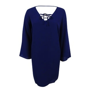 City Chic Women's Trendy Plus Size Bell-Sleeve Tunic