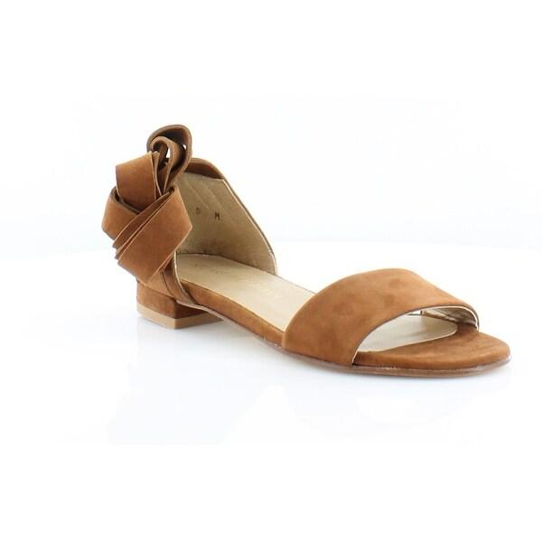 Stuart Weitzman Corbata Women's Sandals & Flip Flops Brown - 5