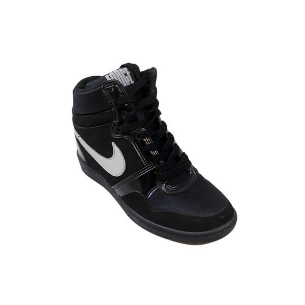 Nike Force Sky High Wedge BlackWhiteAnthracite Ladies