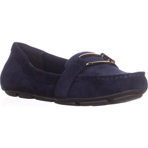 AK Anne Klein Sport Petra Loafers, Navy - 6 us