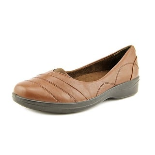 Easy Street Ridge Round Toe Synthetic Flats