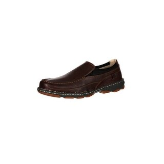 Rocky Outdoor Shoes Mens Cruiser Casual Memory Leather Brown RKS0204