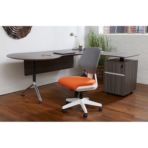 Rye Studio Modern White Frame Office Chair