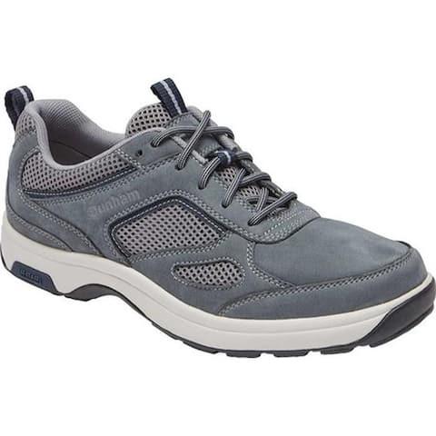 Dunham Men's 8000 Ubal Sneaker Grey Leather