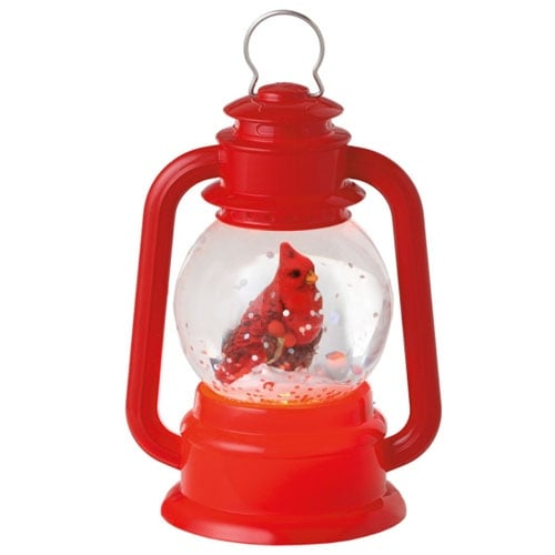 Cardinal Lantern Mini Shimmer