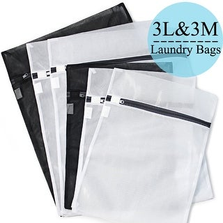Set of 6 Mesh Laundry Bags Wash Bags Bra Lingerie Protection Washing Drying Bag