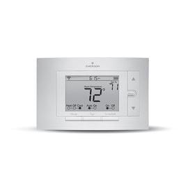 White Rodgers UP500W Emerson Sensi Wi-Fi Thermostat, White