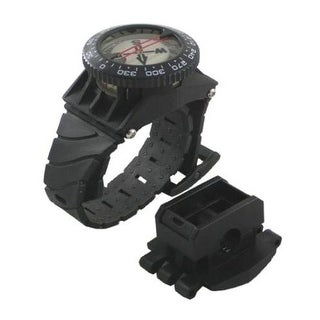 Scuba Diving Deluxe Wrist Compass with Hose Mount