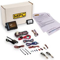 Complete 1-Button Remote Start Kit For 2011-2014 Mazda 2 Includes Bypass and (2) Extended Range Remotes