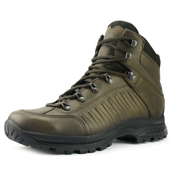 Hanwag Rotwand Bio Men Round Toe Leather Brown Hiking Boot