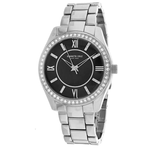 Kenneth Cole Women's Classic Black Dial Watch - KC50739002 - One Size