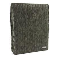 JAVOedge Chevron Scrunch Axis 360 Degree Case with Sleep/Wake for Apple iPad 2 (Olive)