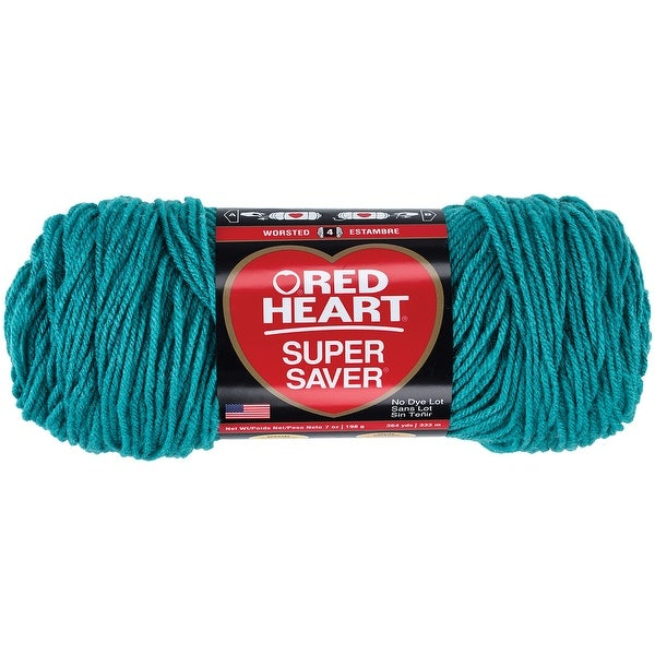 Red Heart Super Saver Yarn-Jade - Green