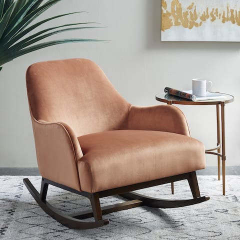 Madison Park Barnaby Spice Rocking Chair