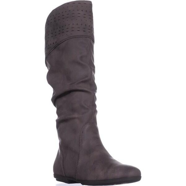 Seven Dials Dillon Mid-Calf Boots, Brown Suede - 8 us