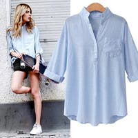 Women's Cotton Striped Shirt