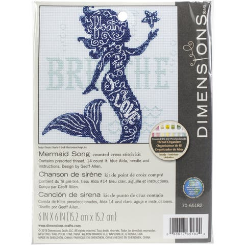Buy Dimensions Cross Stitch Kits Online at Overstock | Our Best