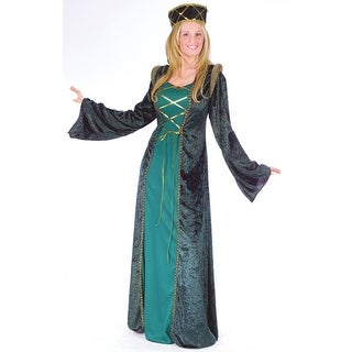 Lady In Waiting Renaissance Medieval Halloween Costume - s/m (size 2-8)