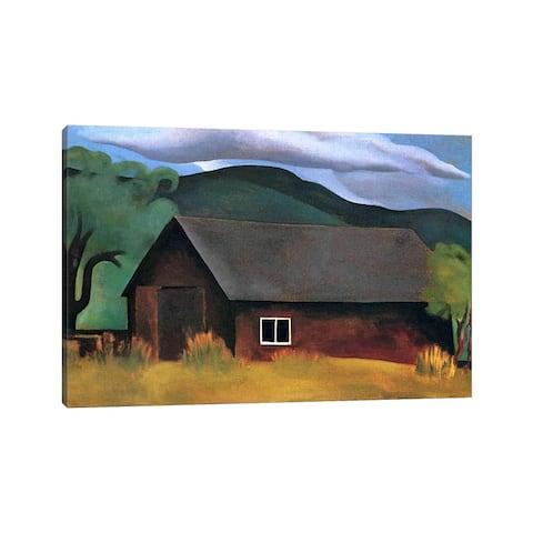 "iCanvas ""My Shanty, Lake George"" by Georgia O'Keeffe Canvas Print"