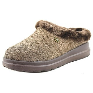 Bobs by Skechers Cherish-Cuddlers Women 2E Round Toe Canvas Slipper