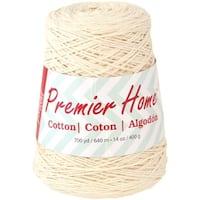 Home Cotton Yarn - Solid Cone-Cream
