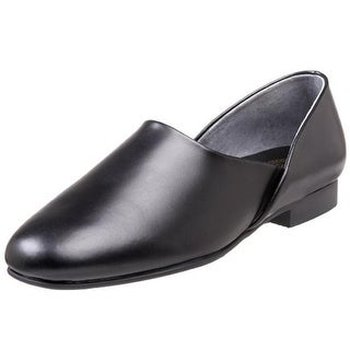 L.B. Evans Mens Radio Tyme II Leather Solid Slip On Shoes - 9 extra wide (eee)