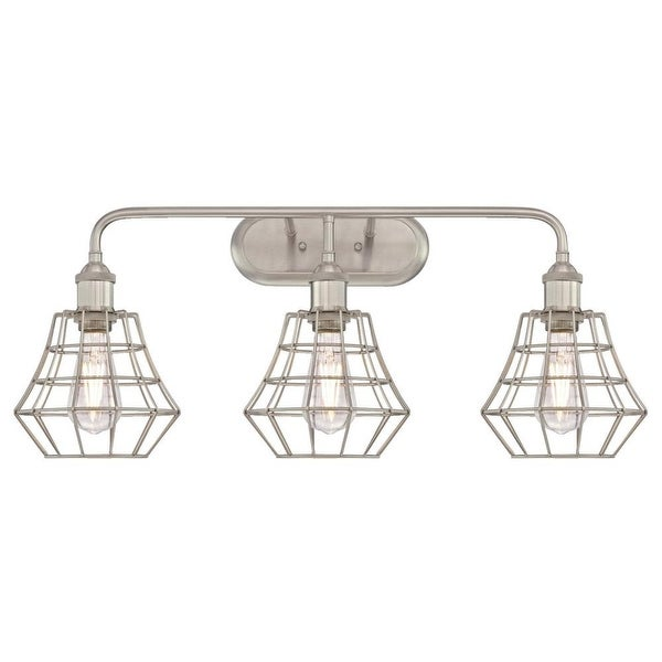 Westinghouse 6336800 Nathaniel 3 Light 28 4 Wide Wall Sconce With