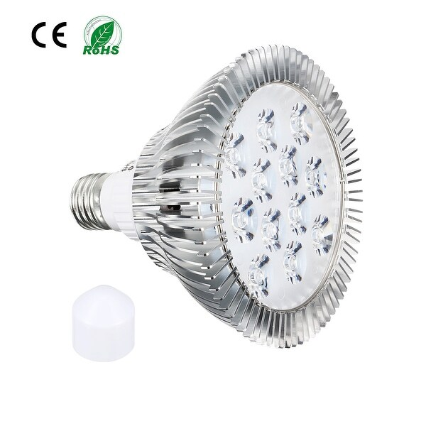 LED Grow Light Bulb 12W E27 9 Red + 3 Blue LEDs AC85V-265V for Indoor Plants