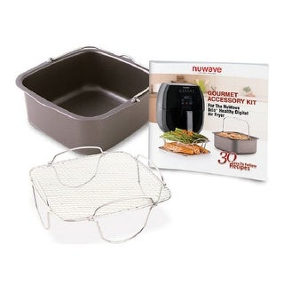 Shop Nuwave Brio Air Fryer Accessory Pack Free Shipping