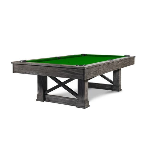 Nora 8' Slate Pool Table w/Dining Top Option